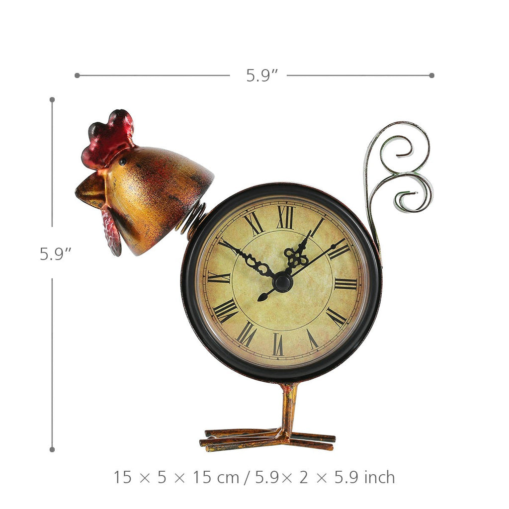Christmas Decorations UK and Homemade Christmas Decorations with Analog Chicken Clock