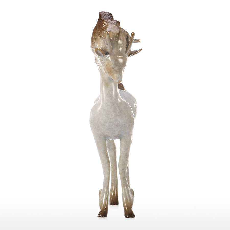 Christmas Deer Statues and White Deer Decor for Deer Decor