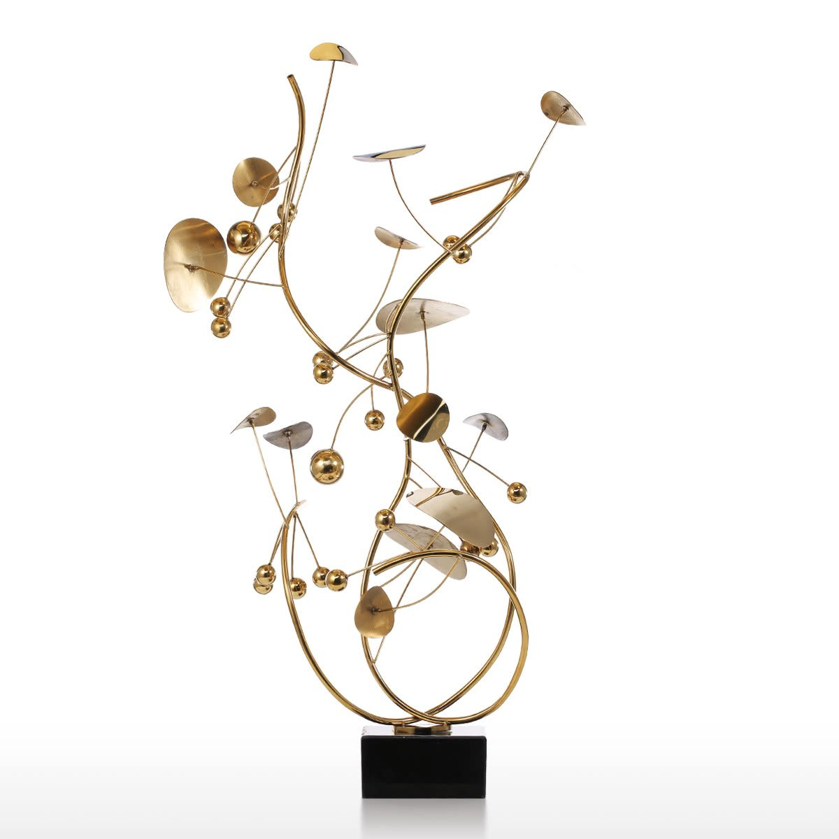 Christmas Tree Art.Metal Christmas Tree Sculpture By Small Tabletop Gold Christmas Decor