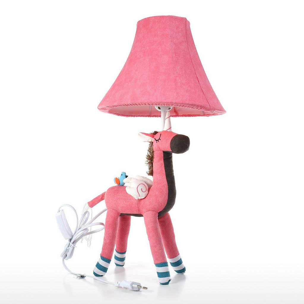 Cute Unicorn and Cute Animal Pink Table Lamp and Desk Lamp for Nursery Decor