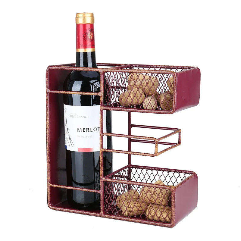 Decorative Letters wine bottle-cork holder is a great item to Housewarming Gifts