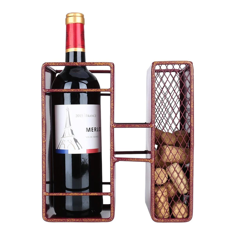 Decorative Letters wine bottle-cork holder is a great item to Housewarming
