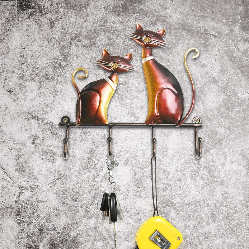 Decorative Wall Hooks With Cat Hooks Wall Mounted