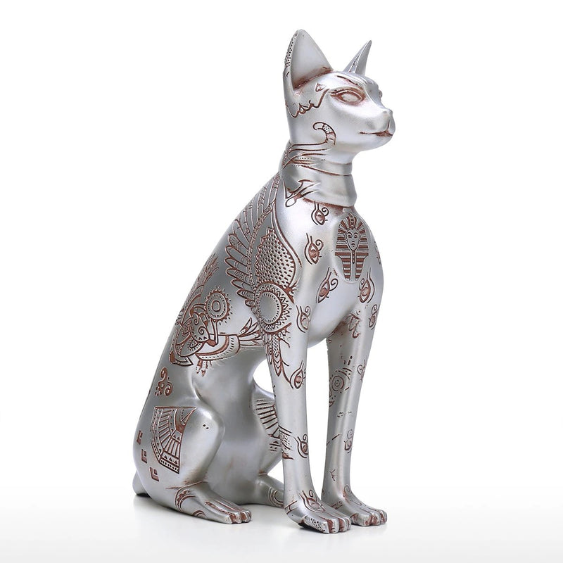 Egyptian Cat Statue For Gifts & Ornament Decor by Great Sphinx of Giza