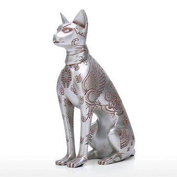 Egyptian Cat Statue For Gifts & Decor by Great Sphinx of Giza
