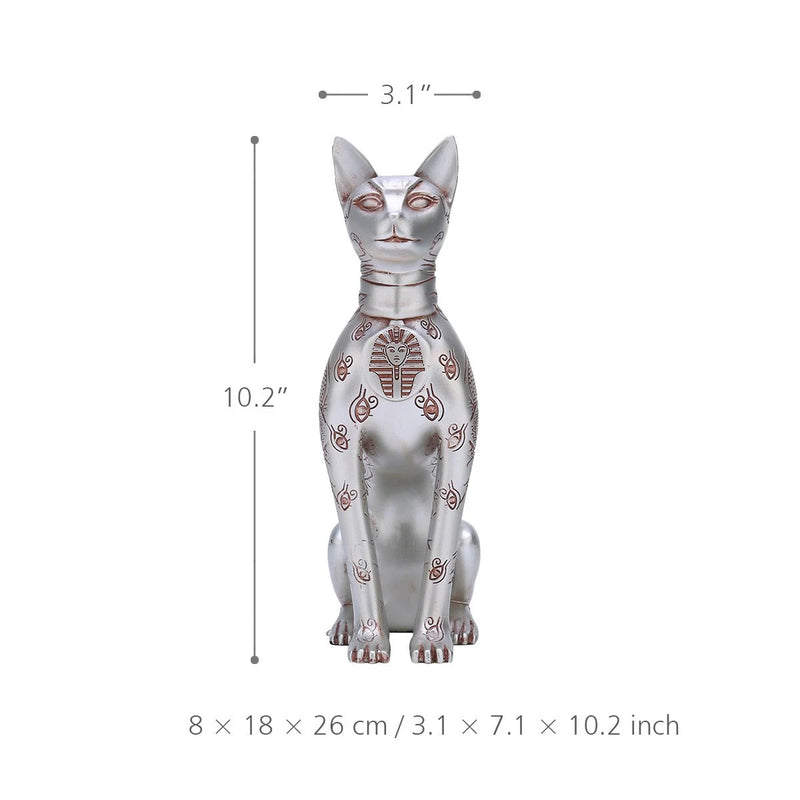 Egyptian Cat Statue by Resin For Cat Ornaments and Gifts