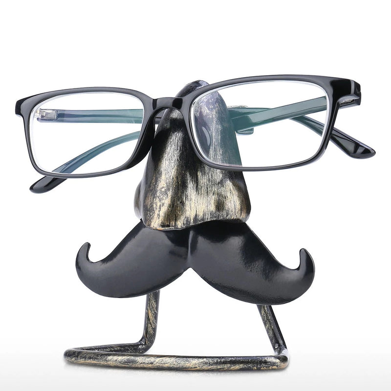 Eyeglass Rack with Bird Nose Figurines Ornament to Desk Organizer and Desktop Accessories in Business or Home Life