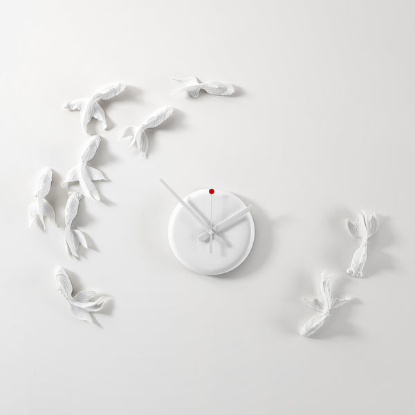 Fish Wall Clock reflects to home your Fishing love with its colors