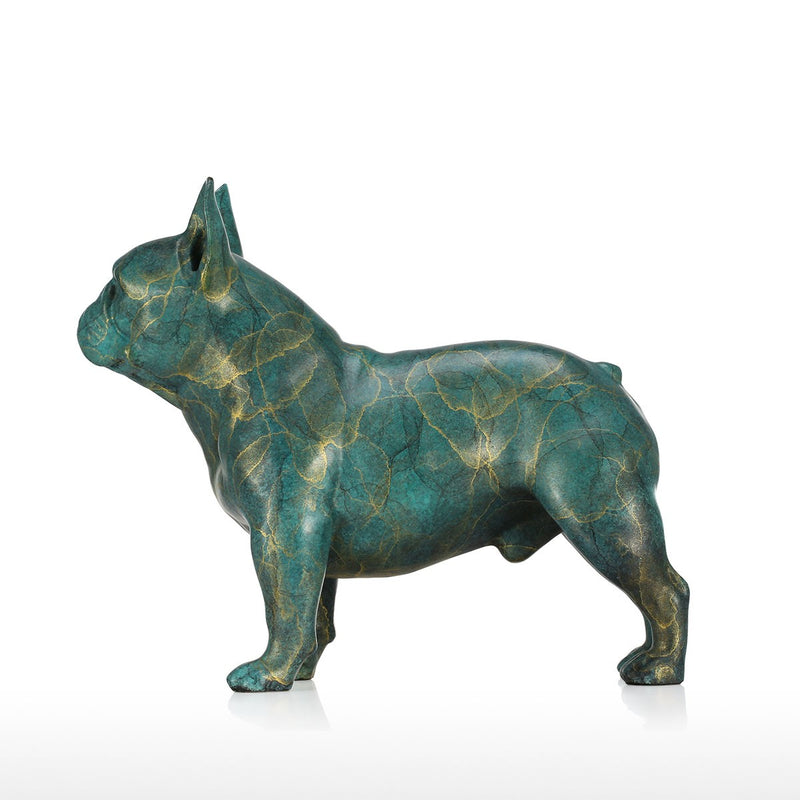 French Bulldog Christmas Decorations and French Bulldog Christmas with French Bulldog Statue for Christmas Decorations