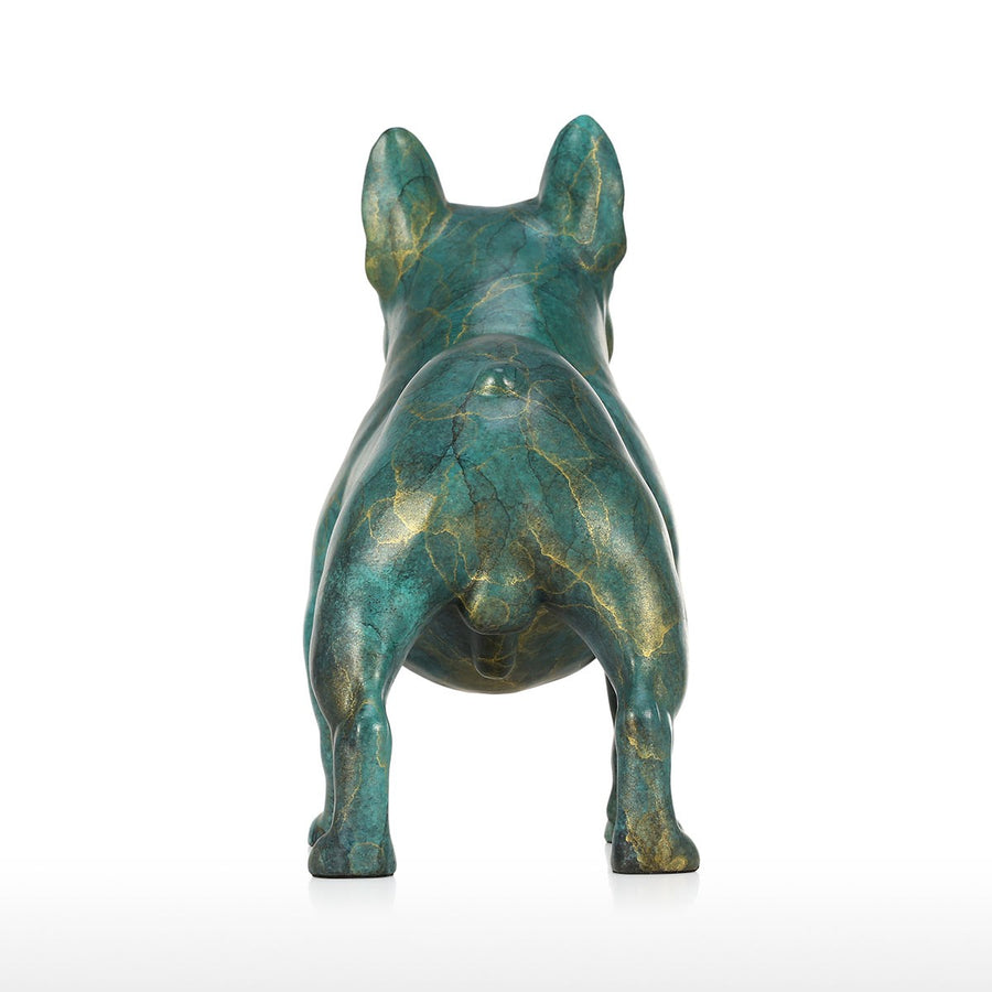 French Bulldog Christmas Gifts and French Bulldog Christmas Decor with French Bulldog Statue for Christmas Decorations