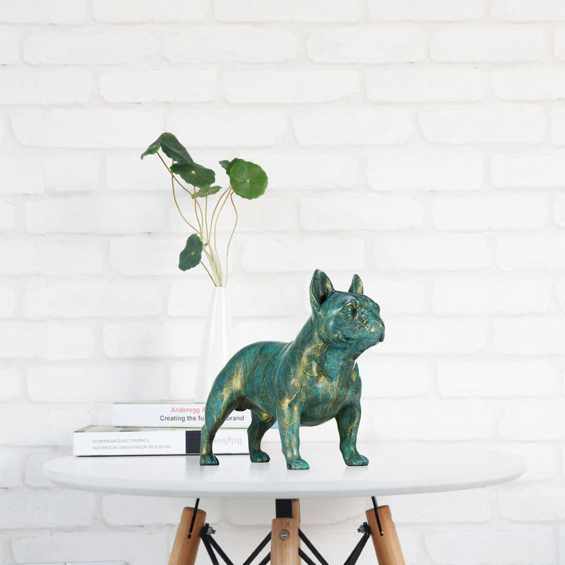 French Bulldog Ornaments and Luxury Christmas Decorations Online  with French Bulldog Statue for Christmas Decorations
