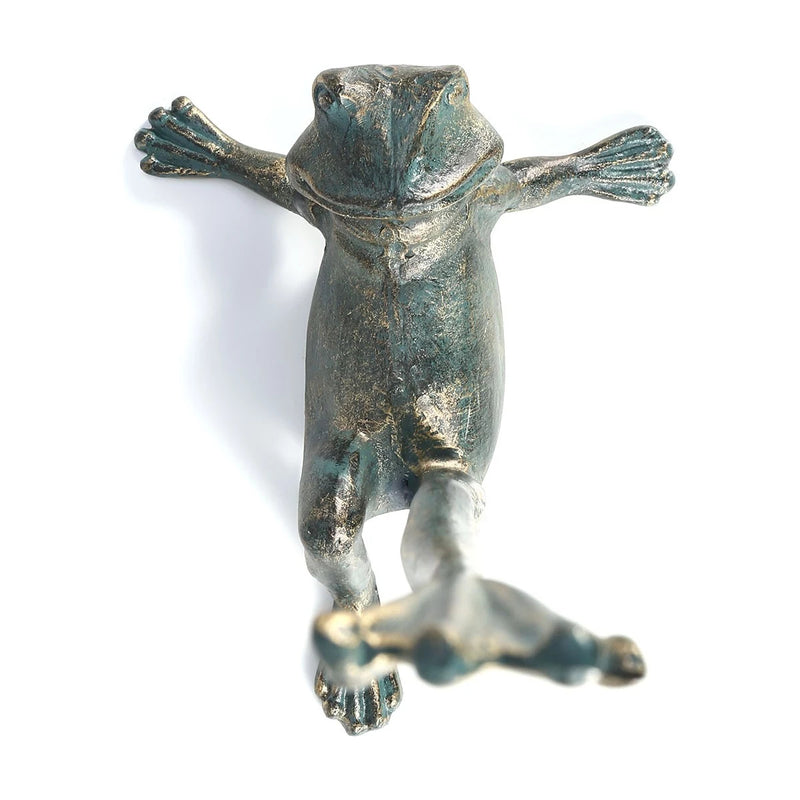 Frog Garden Decor and Frog Decor Ornament with Paper Towel Holder
