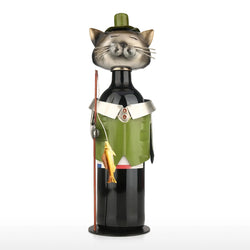 Gifts For Cat Lovers with Small Wine Bottle Holder