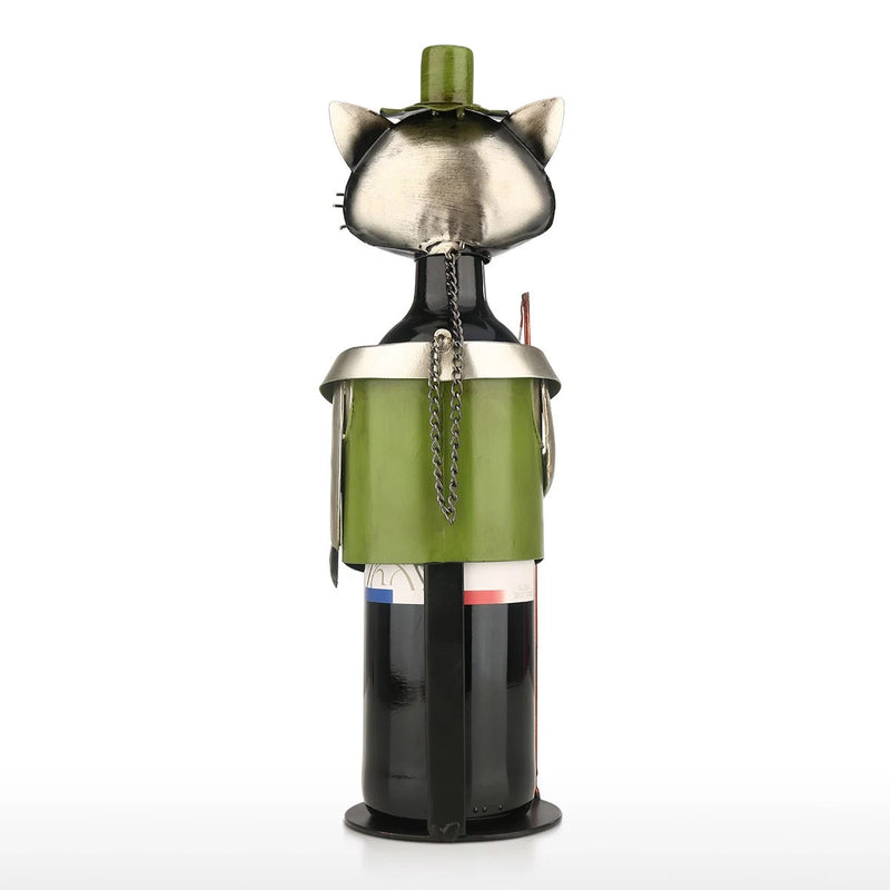 Gifts For Wine Lovers and Cat Lovers with Cat Ornaments