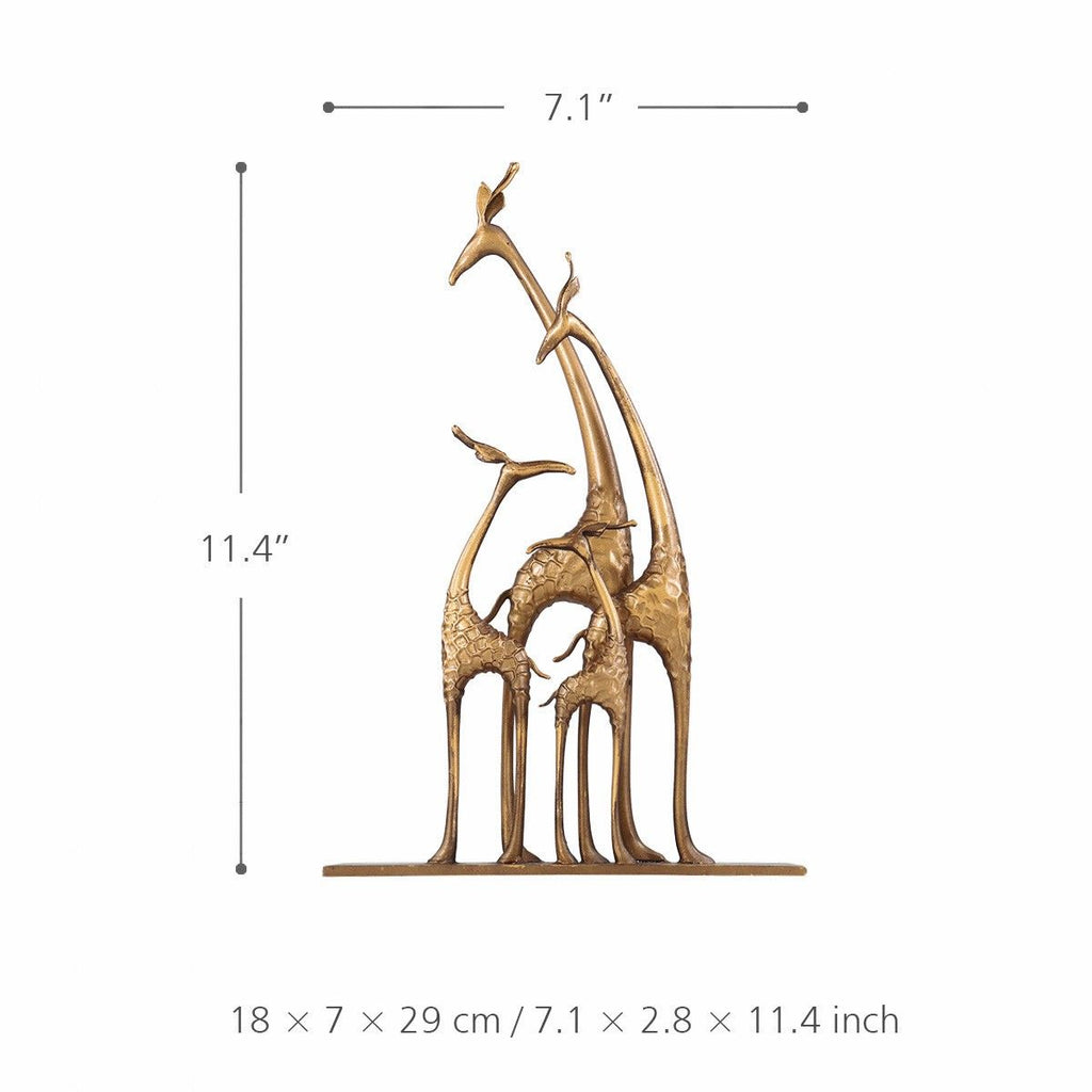 Giraffe Statue Home Decor and Giraffe Decor with Collectible Figurines Ornaments
