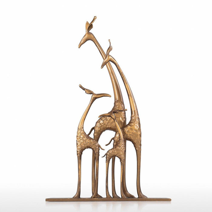 Giraffe Statue and Giraffe Decor with Collectible Figurines for Home Decor and Giraffe Gifts