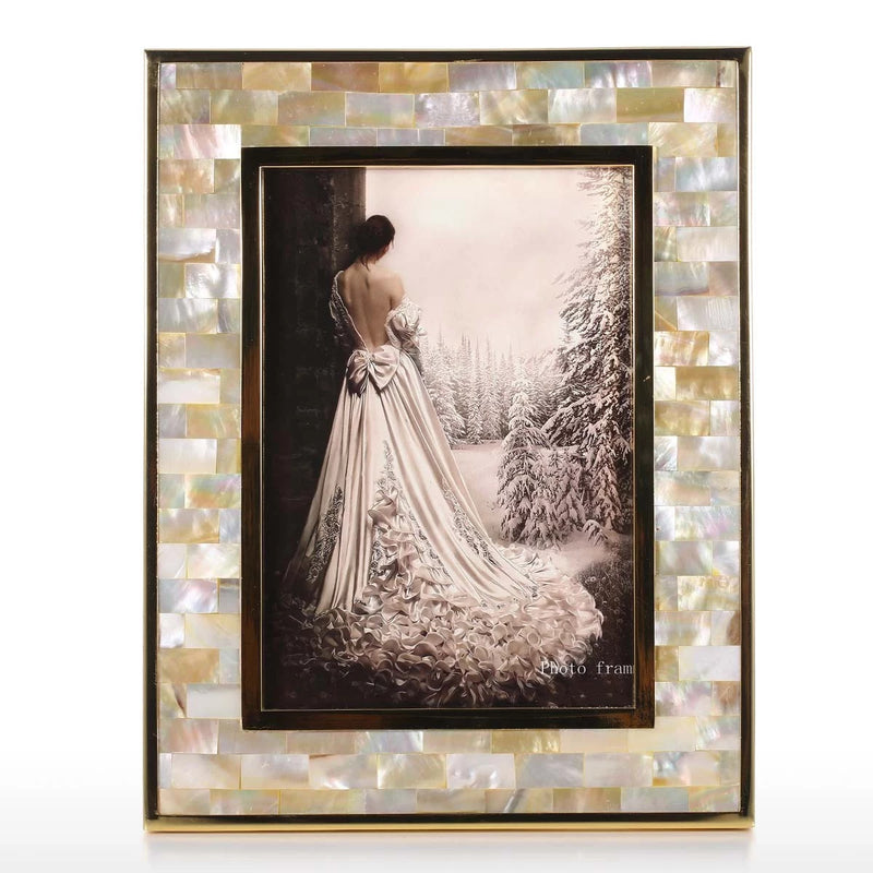 Gold Stainless Steel Photo Frame