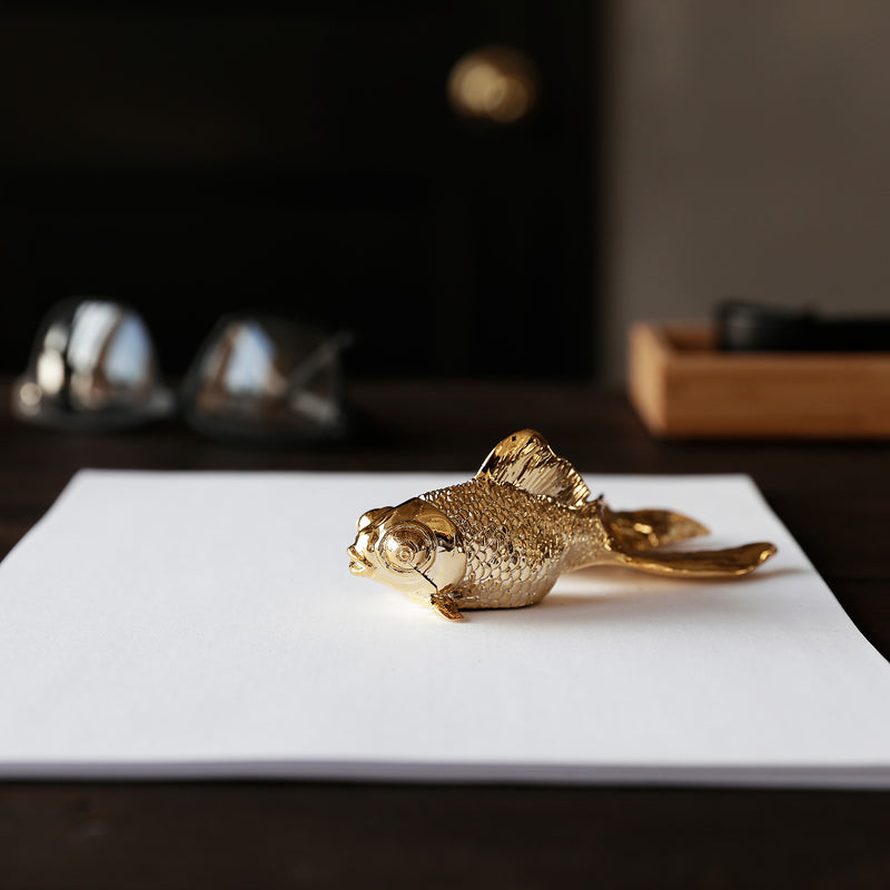 Goldfish Sculpture and Statue by Haoshi Design