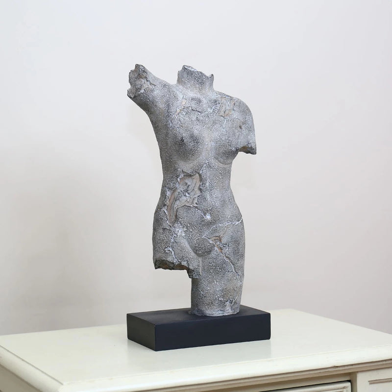 Greek Bust and Sculpture Female Body