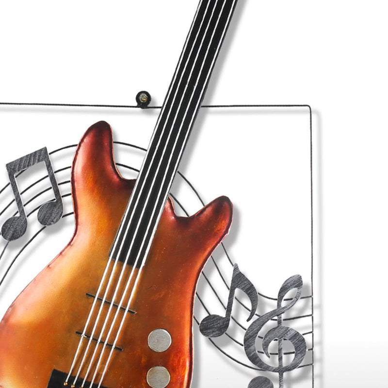 Guitar Wall Art and Metal Wall Art for Music Gifts