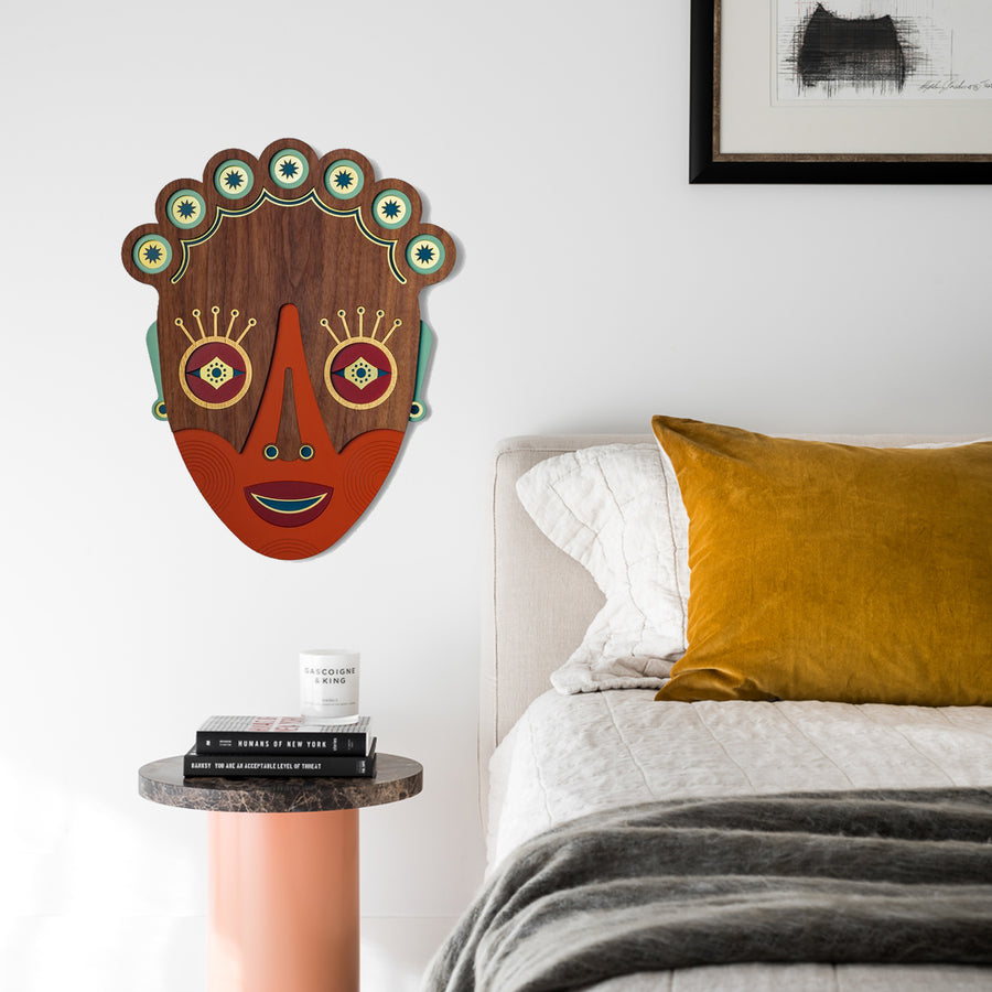 Home Sweet Home Bedroom Wall Decor by African Masks