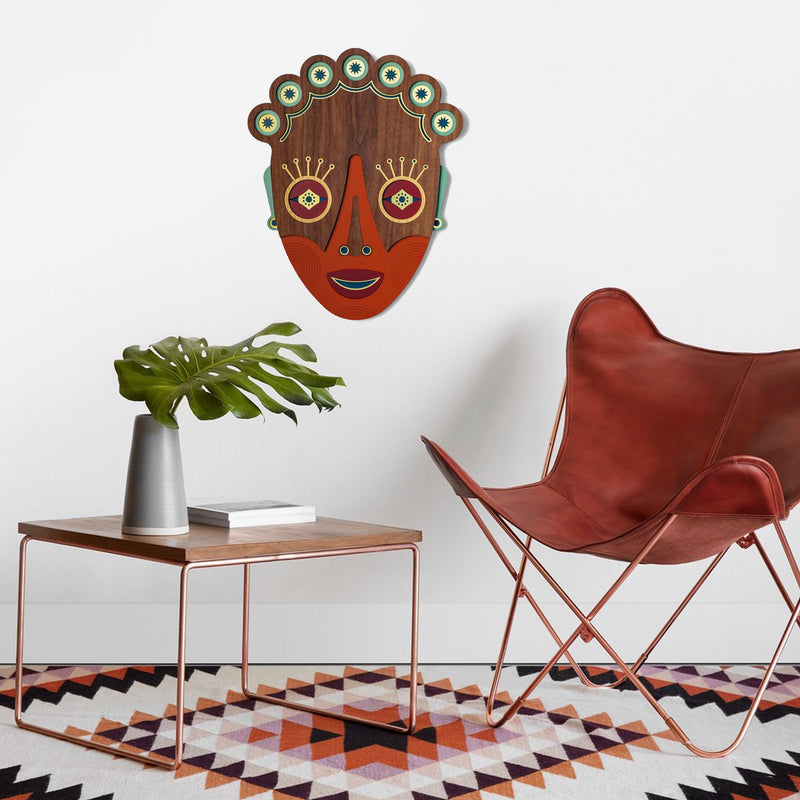 Home Sweet Home Wall Art by African Masks