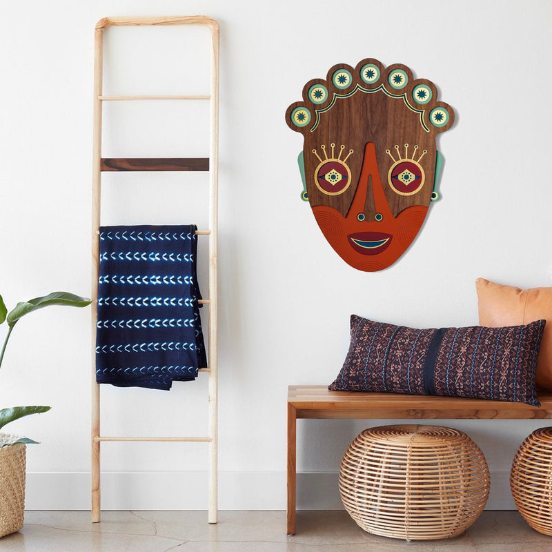 Home Sweet Home Wall Decor by Tribal Masks