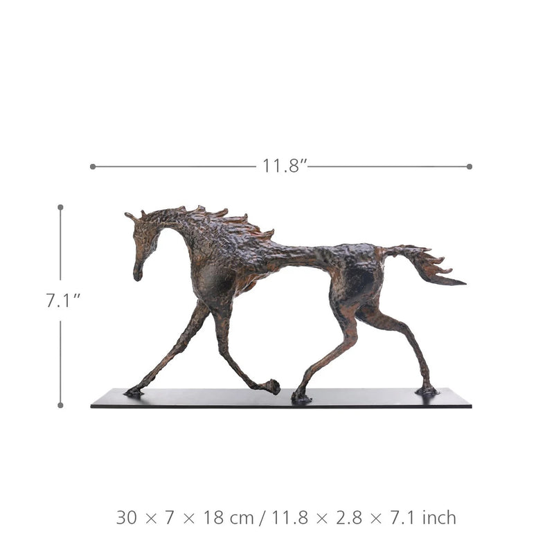 Horse Sculpture Figurine by Alberto Giacometti
