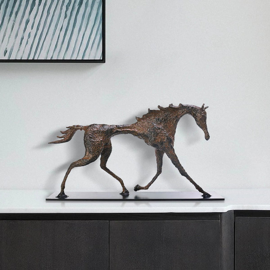 Horse Statue Home Decor and Ornament Sculpture by Giacometti