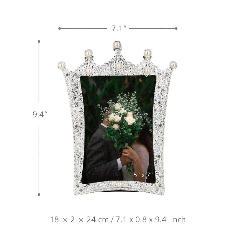 Jewellery Pearl Photo Frame to Home Decor Accessories