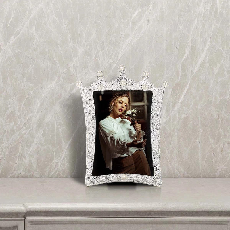 Jewellery Pearl Photo Frame with 4X6 to Home Decor Accessories