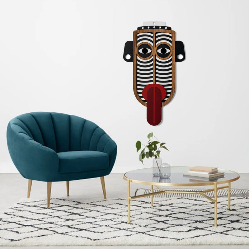 Large Tribal and African Masks by Wooden For Boho Decor