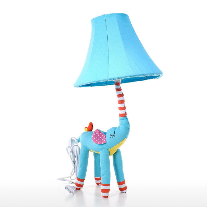 Led Desk Lamp and Table Lamp with Blue Elephant Table Lamp for Elephant Decor and Nursery Decor