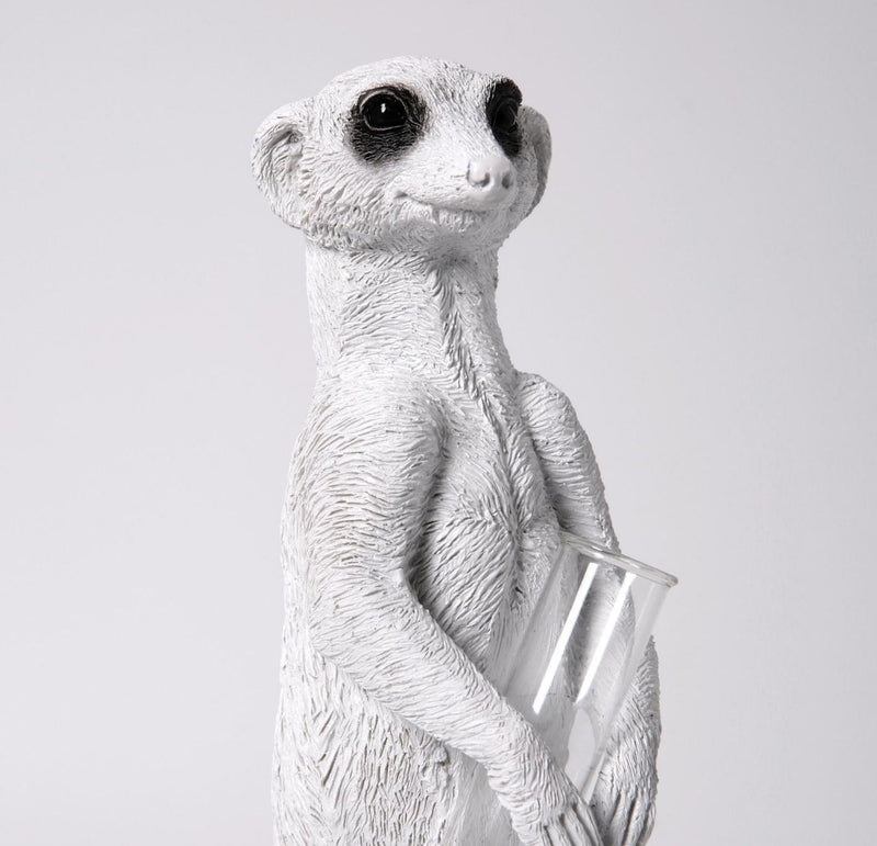 Meerkat Ornaments by Decorative Vase
