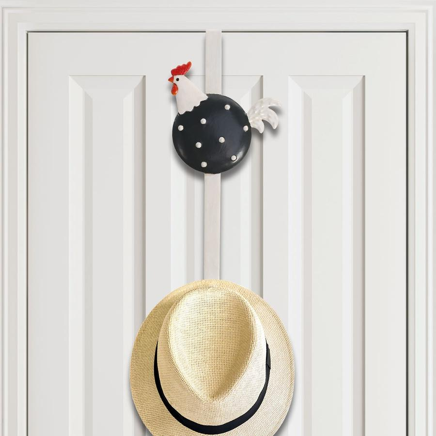 Metal Door Hanger by Farmhouse Chicken Decor