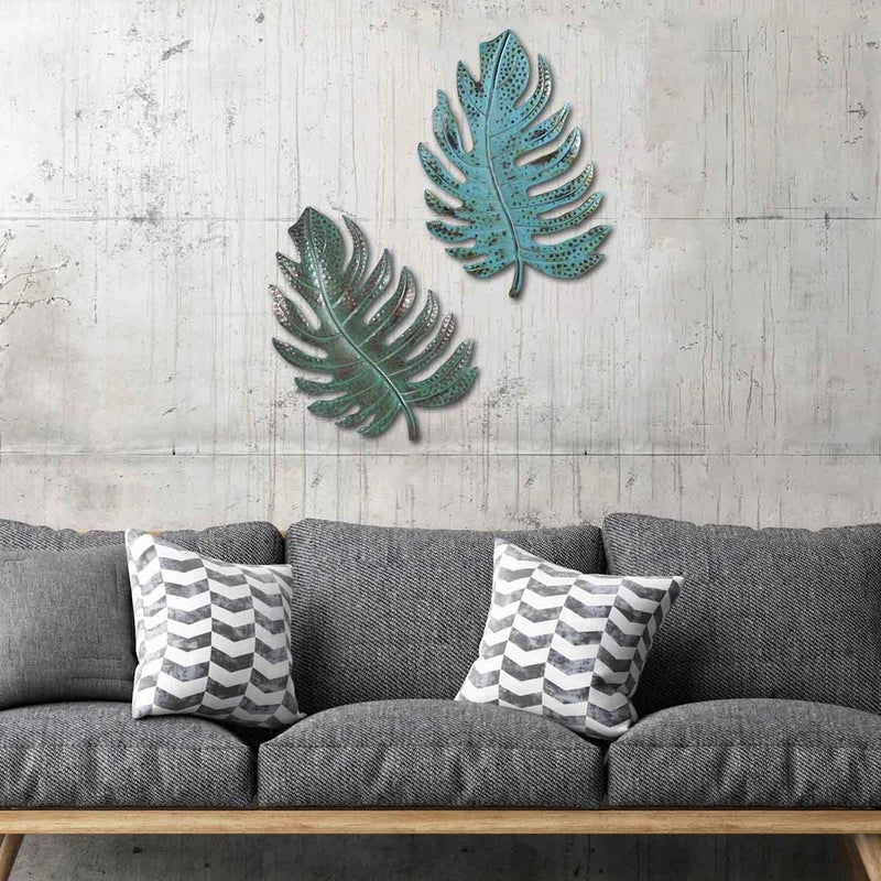 Metal Leaf Living Room Home Wall Decor