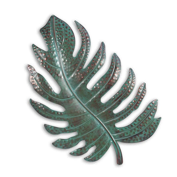 Metal Leaf Wall Decor For Living Room Wall Art
