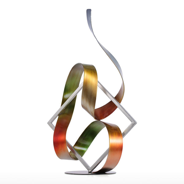 Metal Sculpture and Christmas Decorations Indoor with Metal Sculpture for Christmas Decorations and Home Decor