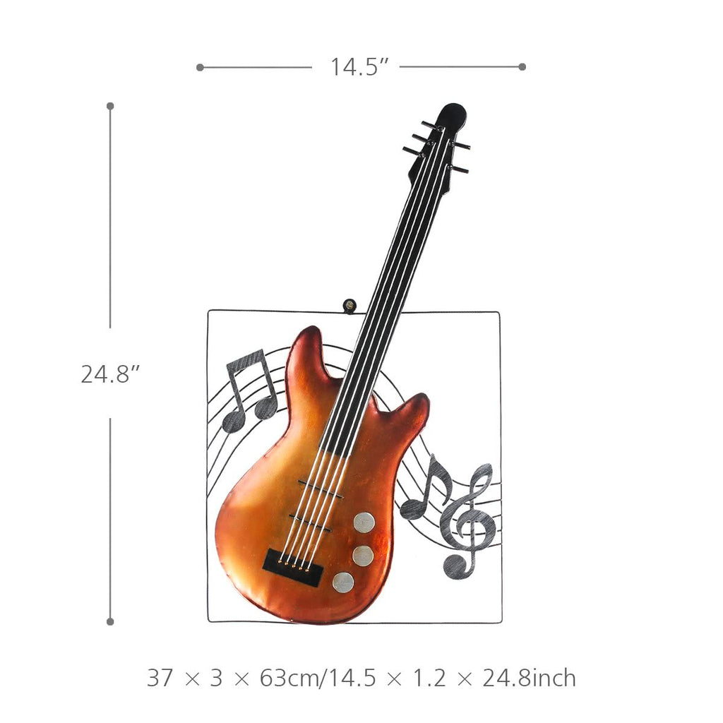 Metal Wall Art Decor and Music Wall Art for Music Gifts