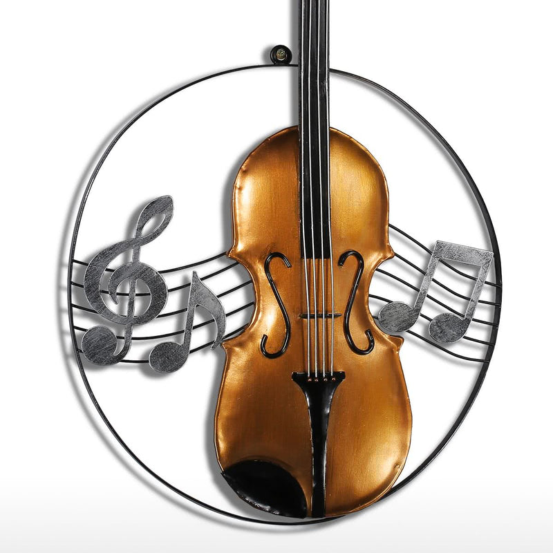 Metal Wall Art Decor and Sculptures with Metal Wall Art and Music Gifts