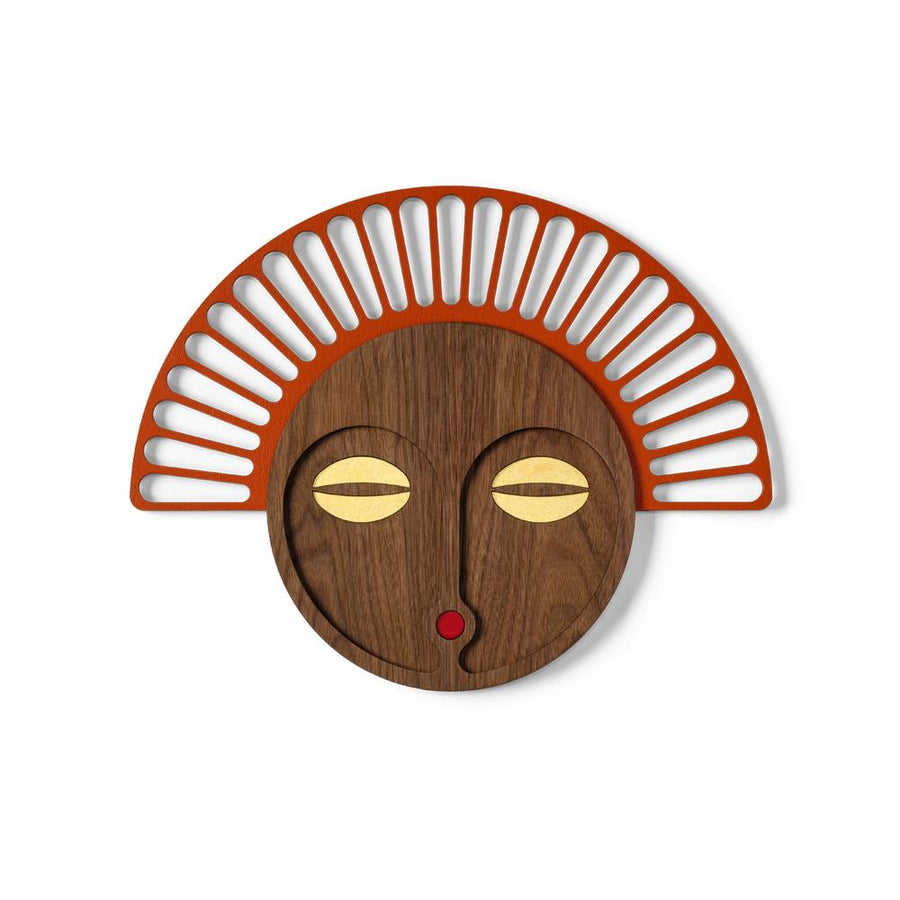 Modern African Mask Wall Art 35X46 CM