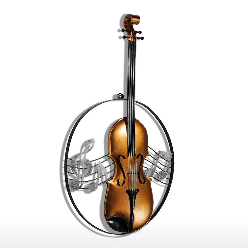 Musical Instrument Wall Art with Violin