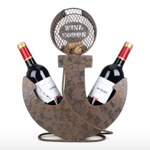 Nautical Wine Bottle Holder to Anchor Decor