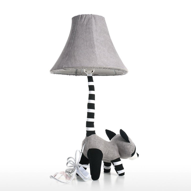Nursery Lamp as Nightstand Decor