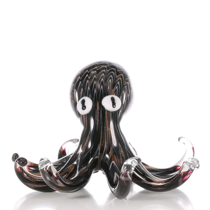 Octopus Decor and Octopus Home Decor with Glass Octopus for Christmas Gifts and Christmas Ornaments