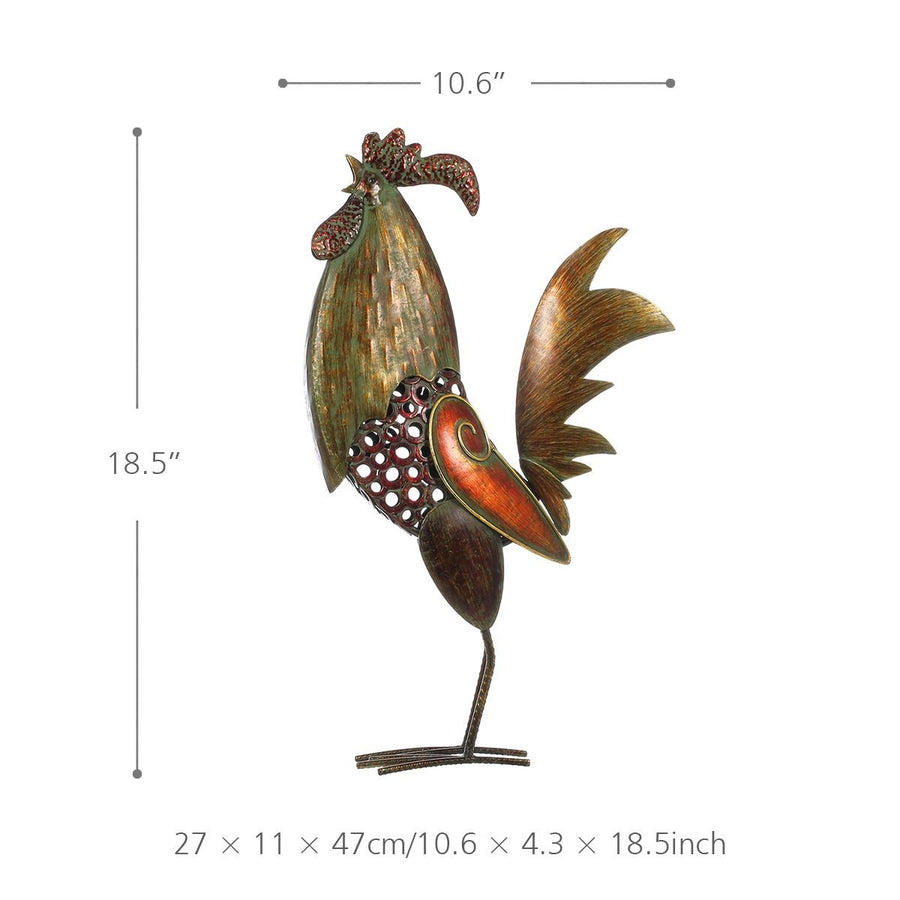 Outdoor Christmas Decorations or Outdoor Christmas Yard Decorations for Rooster Kitchen Decor