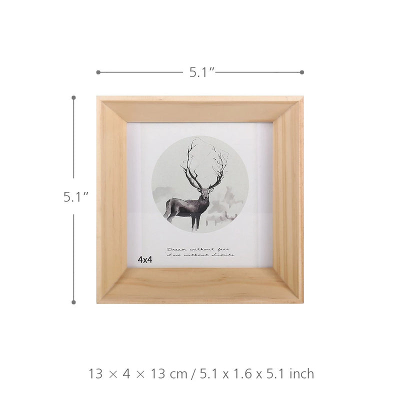 Photo and Picture Frame with Wooden