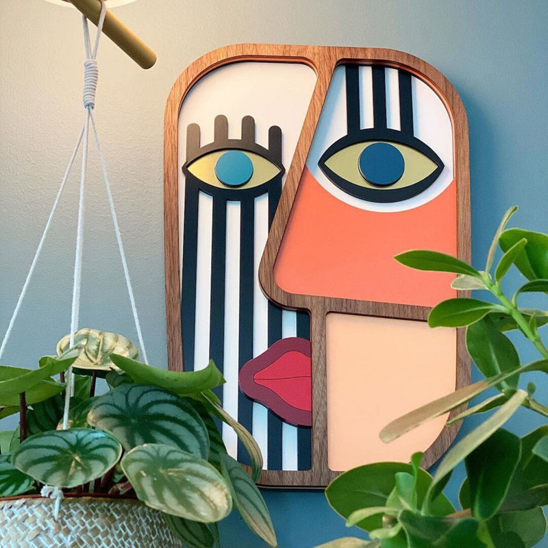 Picasso Face to Wall Art Posters by Umasqu