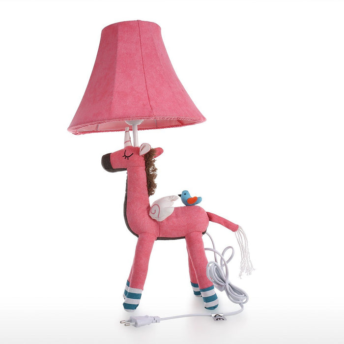Pink Unicorn Table Lamp and Desk Lamp for Nursery Decor