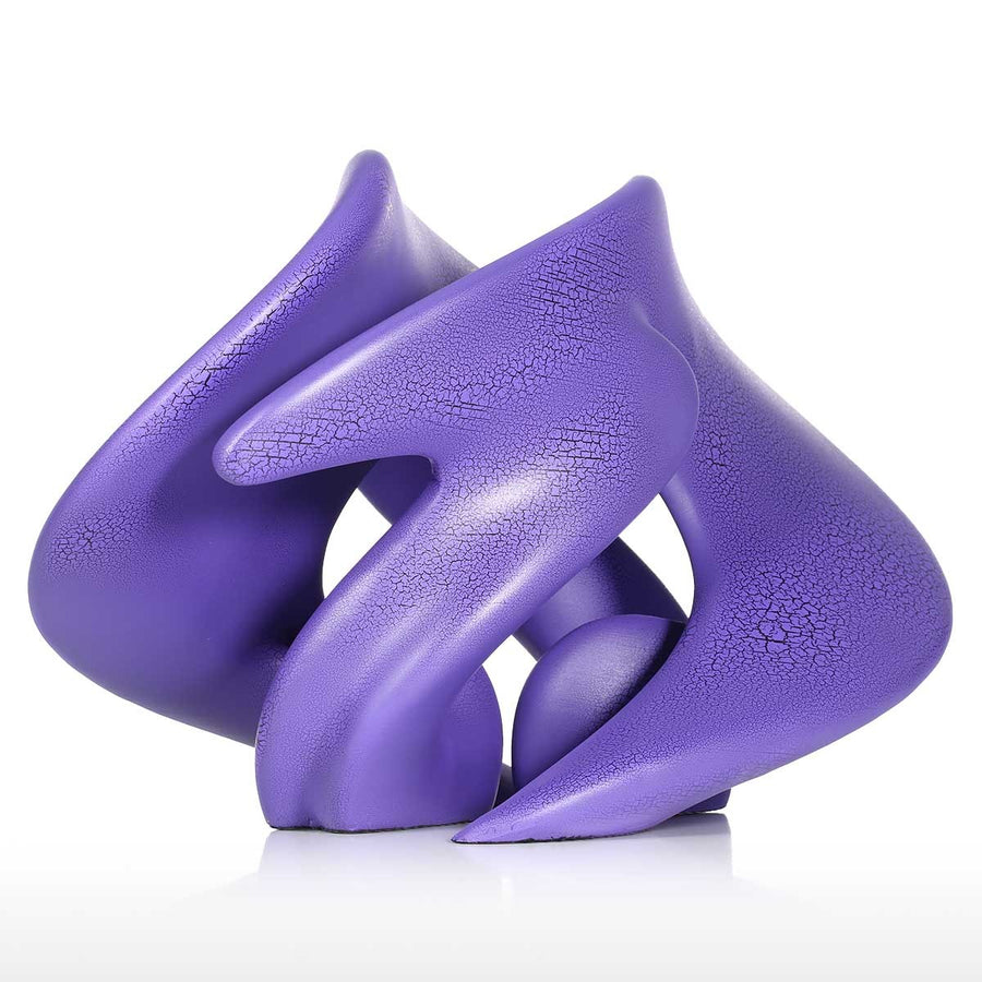 Purple Room Decor Ideas With Sculptures